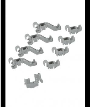 Клипсы корзины 632372 ПММ Bosch/Siemens 8шт.