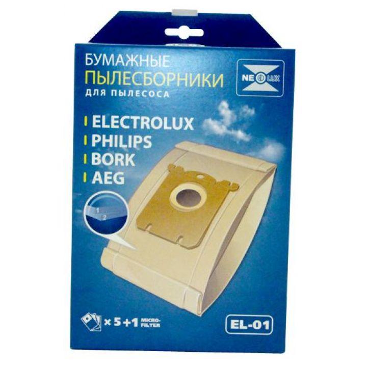 Бумажные пылесборники Neolux EL-01 для пылесосов