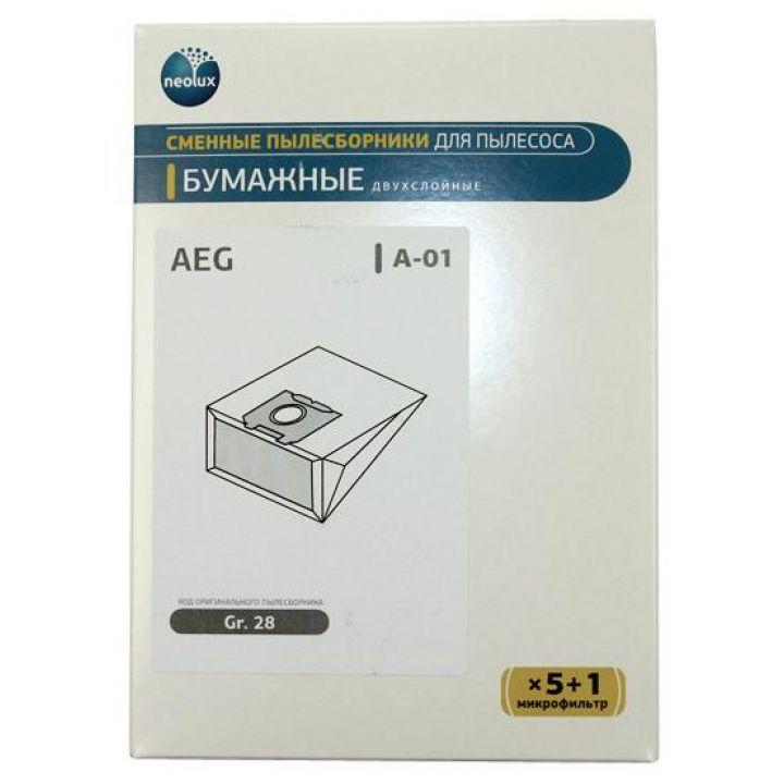 Бумажные пылесборники Neolux A-01 для пылесосов