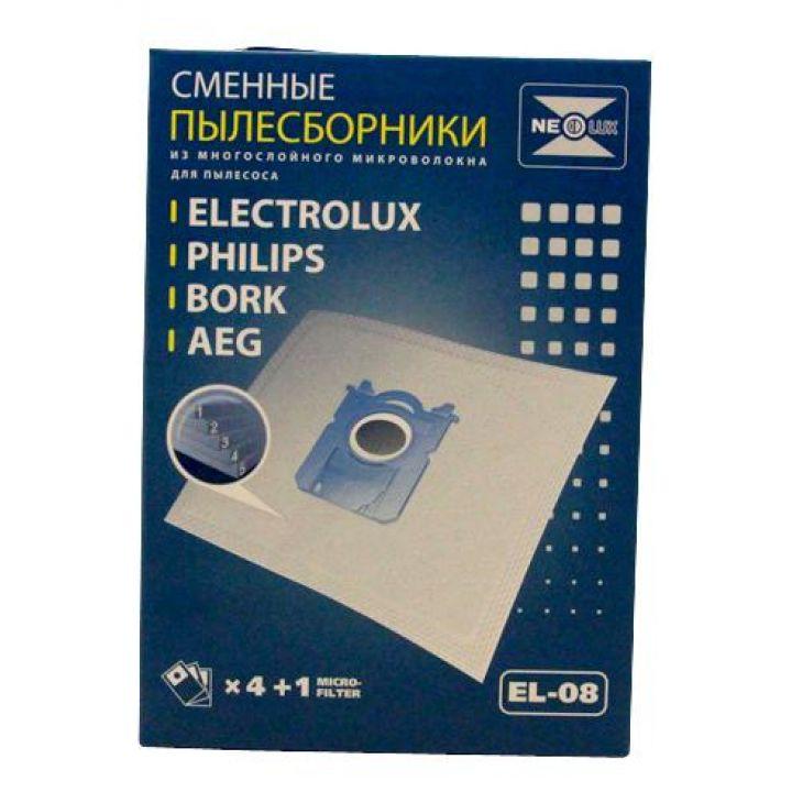 Мешок-пылесборник Neolux EL-08 тканевый для пылесоса