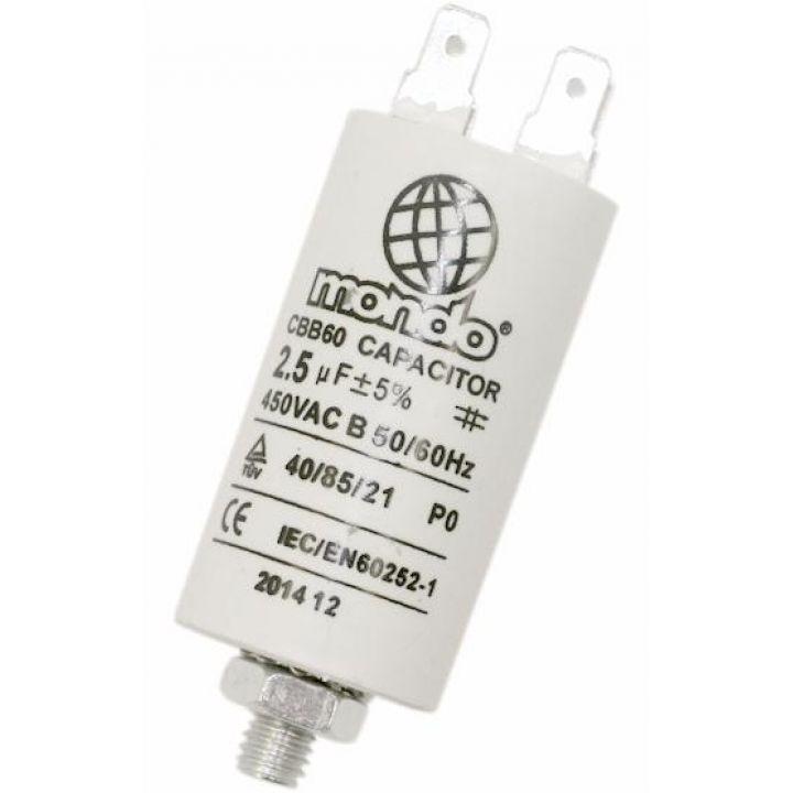 Конденсатор для стиральной машины СВВ60 2.5 МкФ