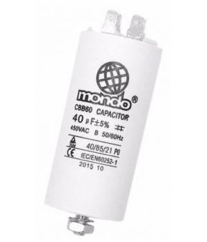 Конденсатор для стиральной машины СВВ60 40МкФ